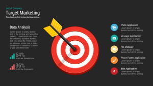 Target Marketing PowerPoint Template and Keynote Slide