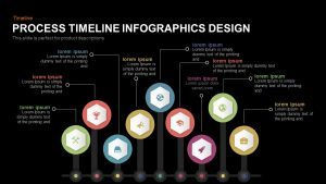 Process Timeline Infographic Template for PowerPoint and Keynote