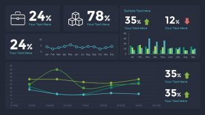 Sales Dashboard Template for PowerPoint and Keynote