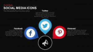 Social Media Icons PowerPoint Template and Keynote Slide