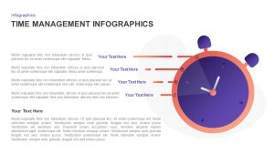 Infographic Time Management PowerPoint Template & Keynote